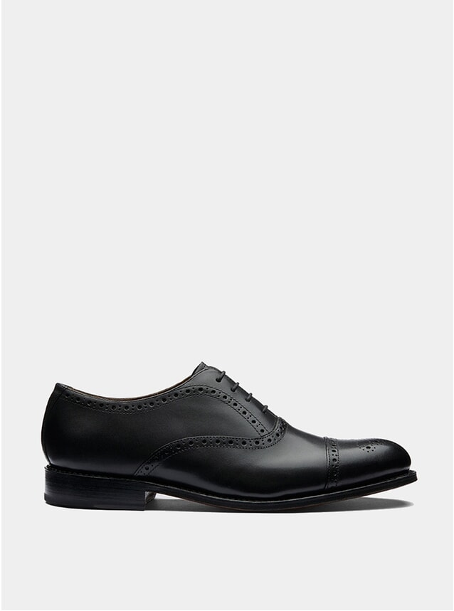 Black Calf Matthew Brogues