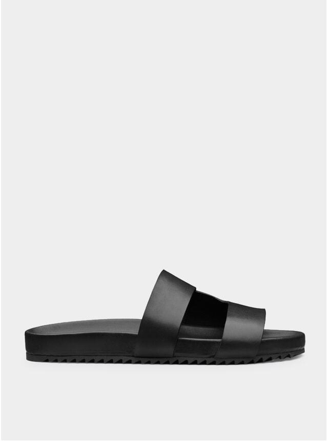 Black Chadwick Sandals