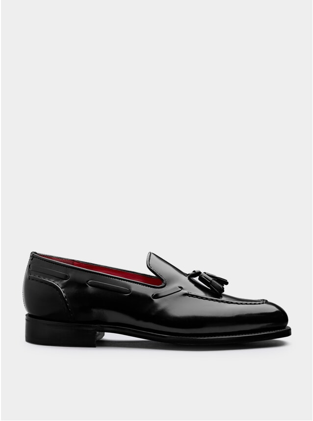 Black Leadenhall Loafers
