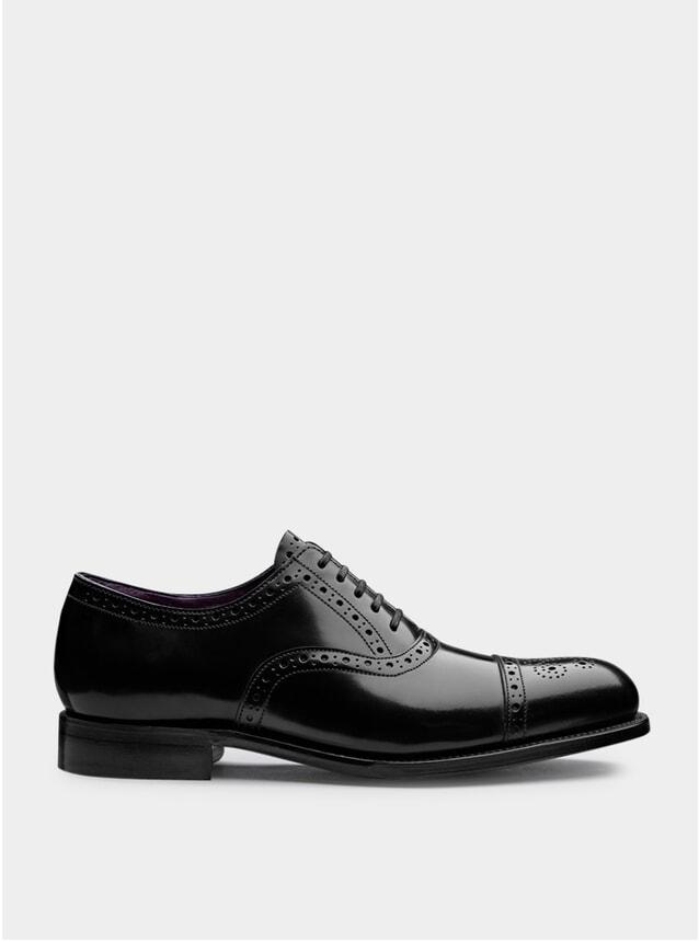Black / Purple Walbrook Shoes