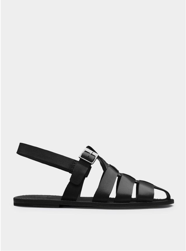Black Quincy Sandals