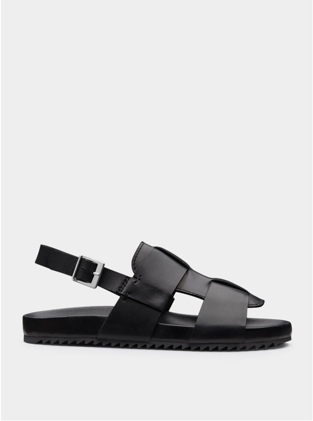 Black Wiley Sandals
