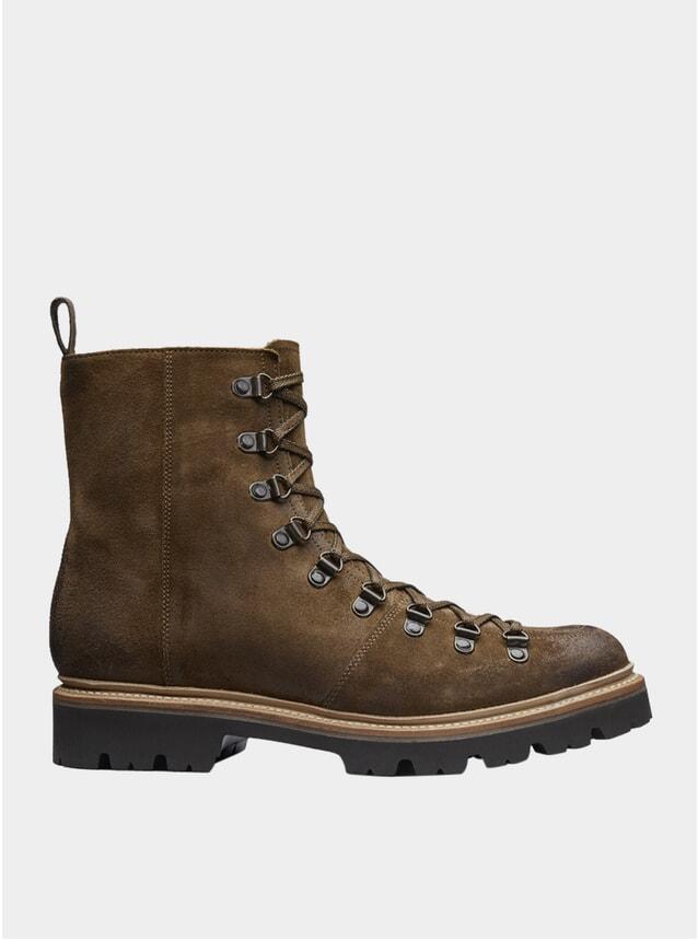 Snuff Suede Brady Boots