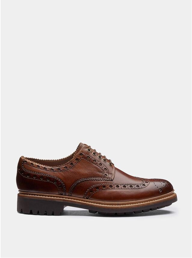 Tan Calf Archie Commando Shoes