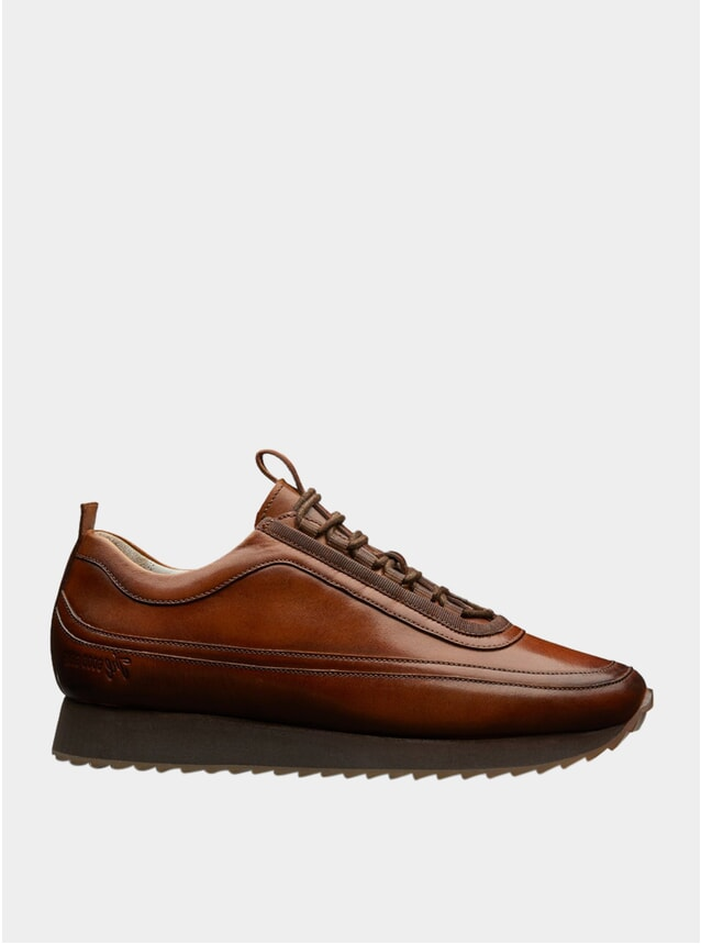 Tan Leather 12 Sneakers