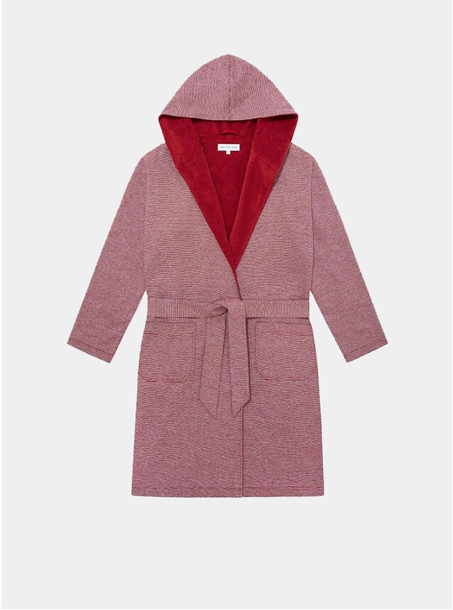 Red Towelling Robe