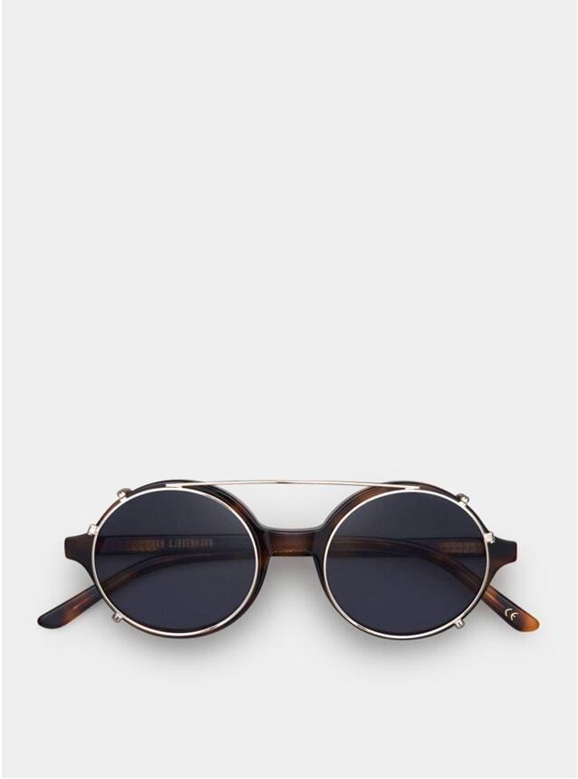 Amber Clip-On Doc Sunglasses