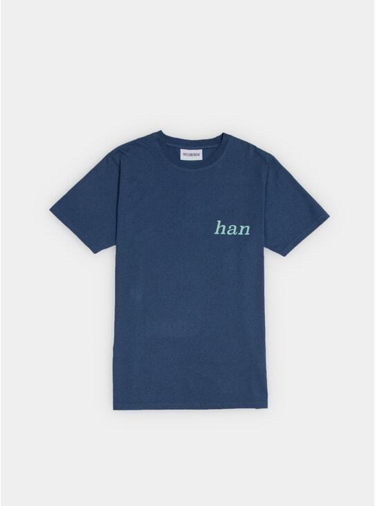 Navy Artwork T Shirt