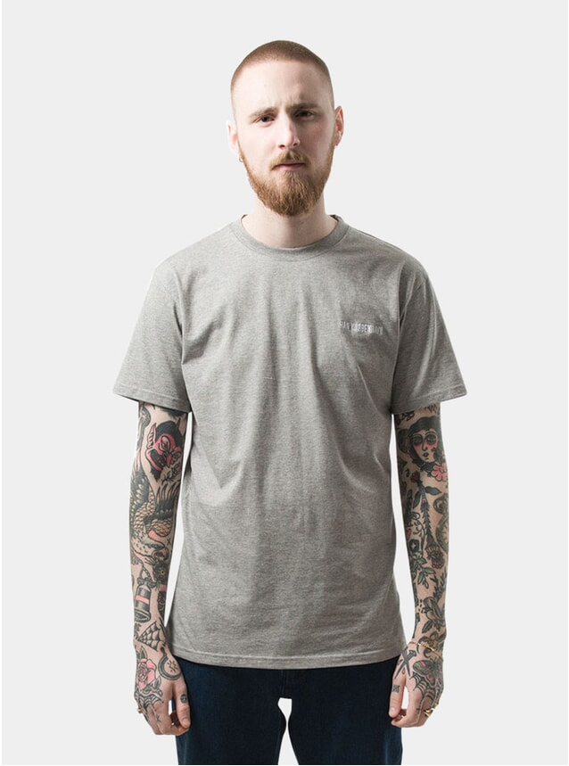 Grey Melange Casual Tee