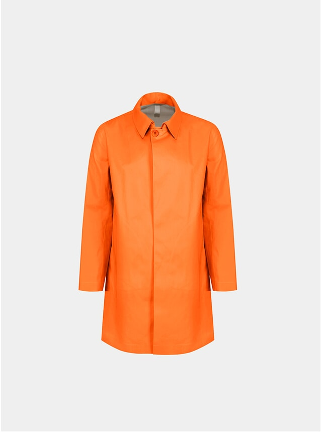 Orange Classic Raincoat