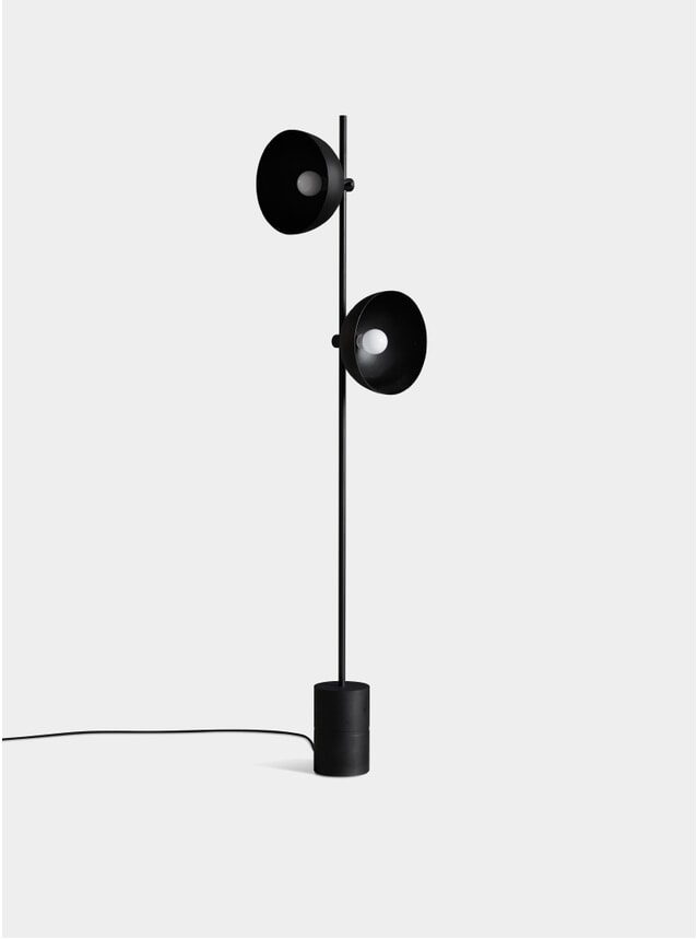 Black Studio Floor Lamp