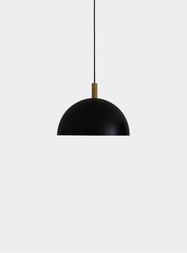 Black / Brass Ø40 Studio Pendant