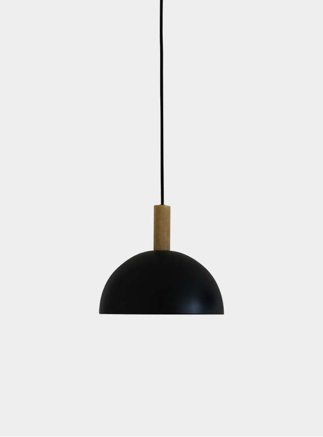 Black / Brass Studio Lamp