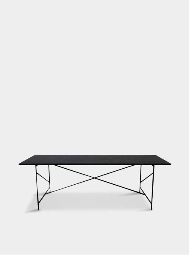 Black Oak Dining Table