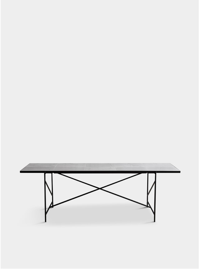 Black / White Marble Dining Table