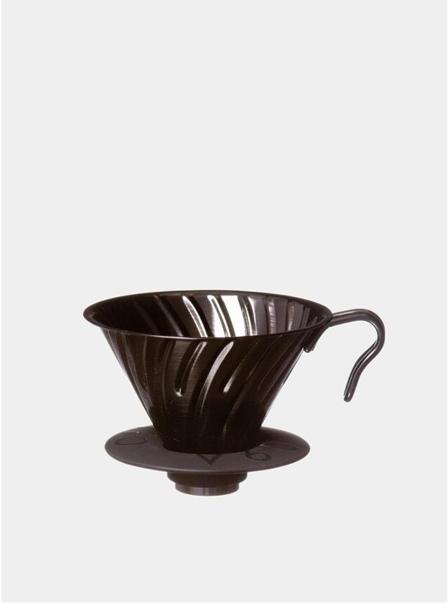 Black Metal V60 Coffee Dripper