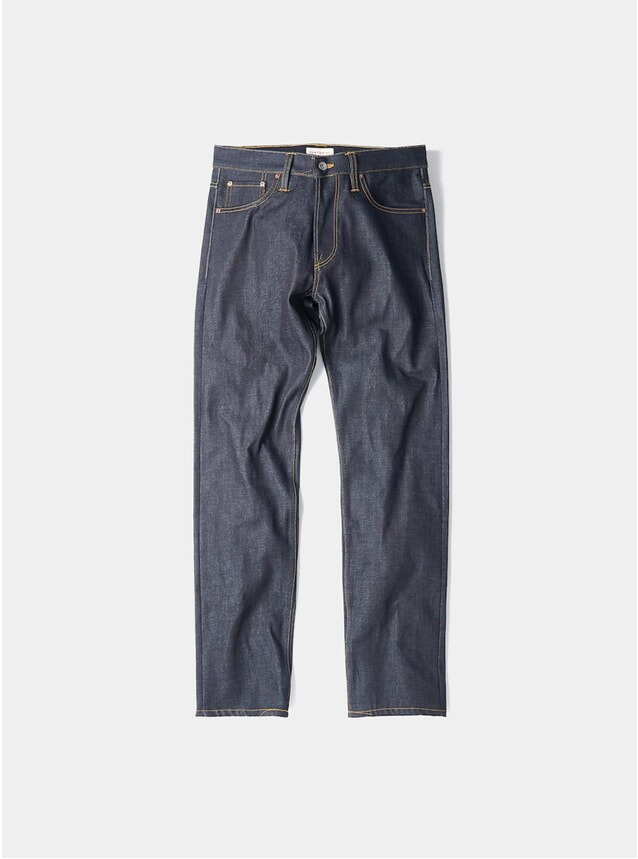 Dry Organic Loose Tapered 14oz Jeans