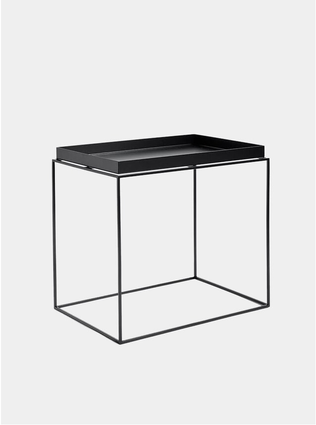 Black High Tray Table