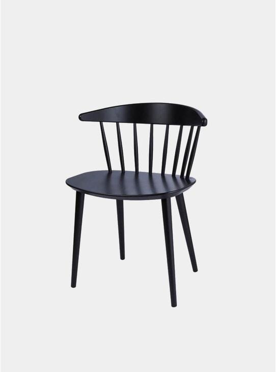 Black J104 Dining Chair