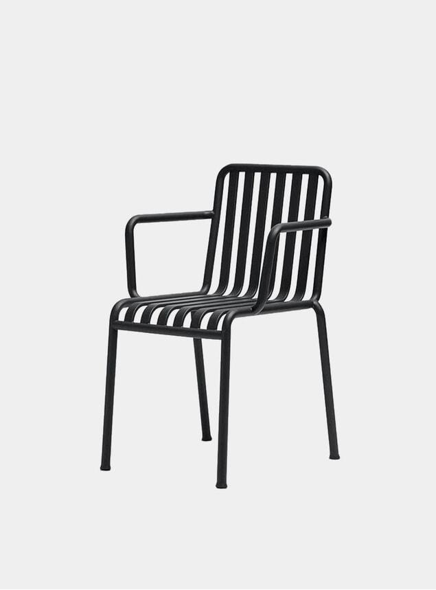 Black Palissade Outdoor Armchair