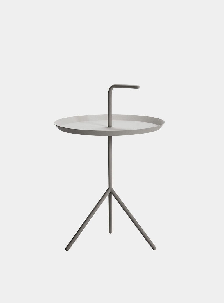 Hay Dlm Side Table.Grey Dlm Xl Side Table