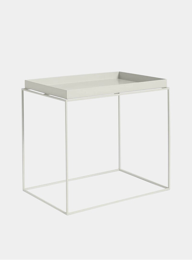 Grey High Tray Table