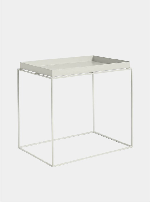 Grey High Tray Table