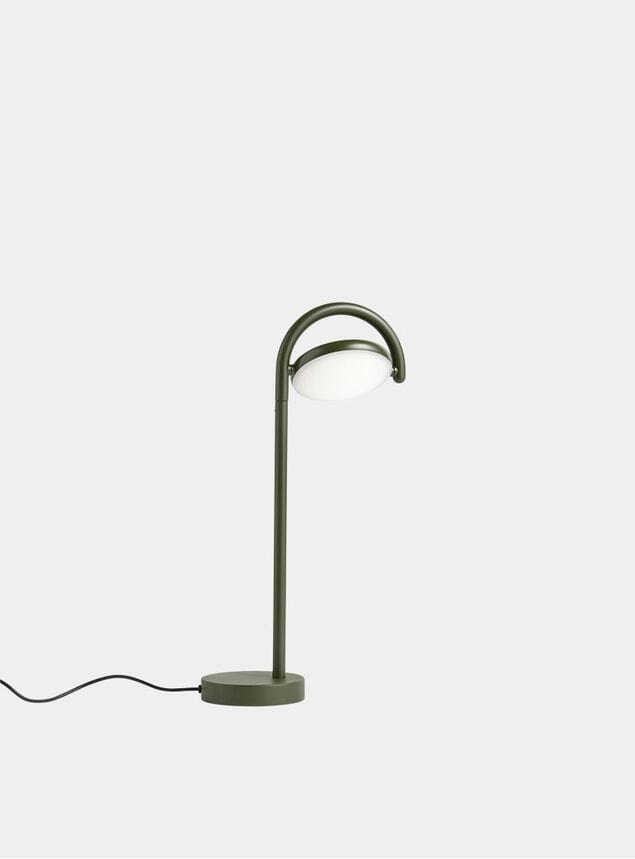 Khaki Green Marselis Table Lamp