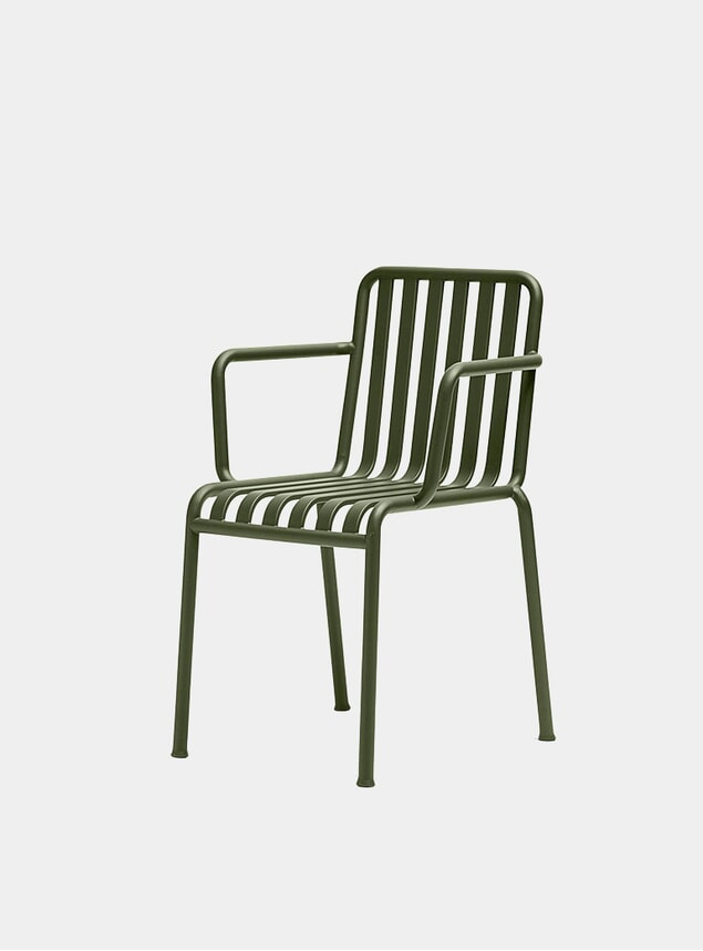 Olive Palissade Outdoor Armchair