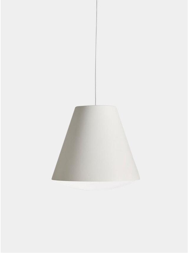 White Sinker Pendant Light