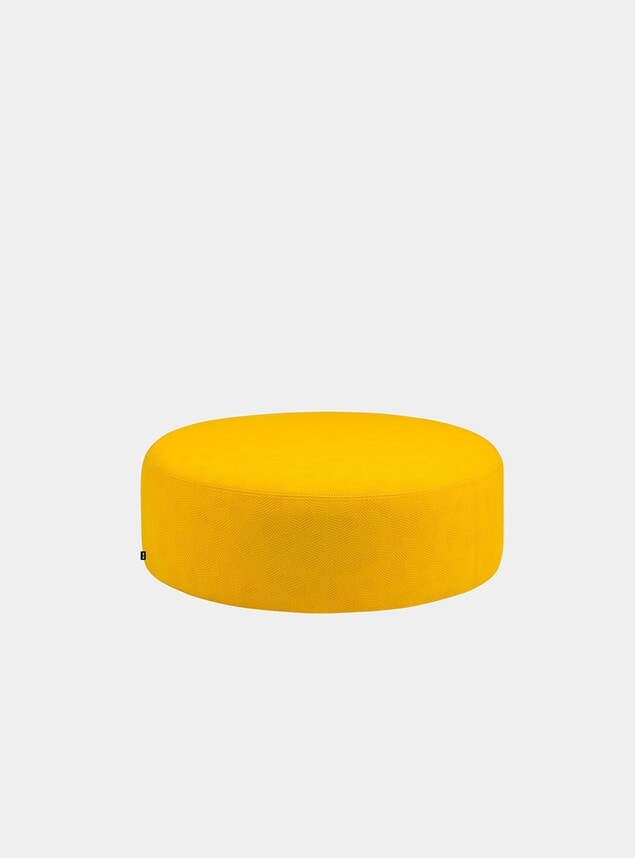 Honey Round Large Bon Pouf