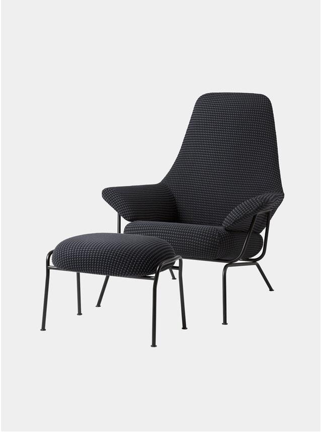 Mosaic Hai Chair & Ottoman