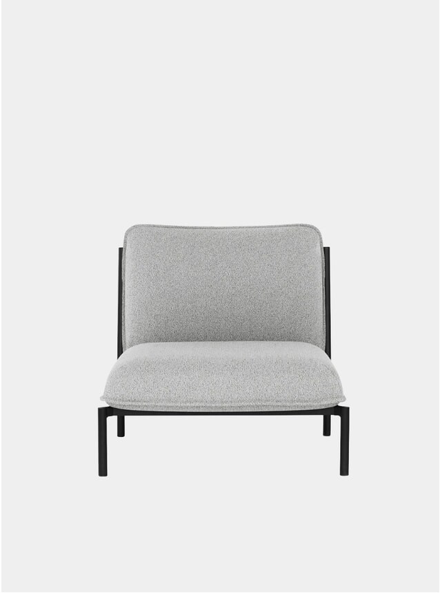 Porcelain Kumo Modular Single Seater Sofa