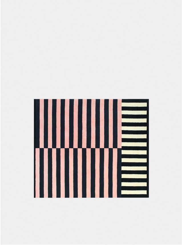 Rose Large Stripe Rug