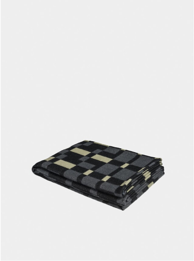 Anthracite Square Throw