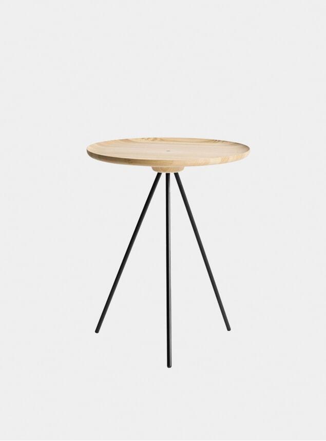 Ash / Black Key Side Table