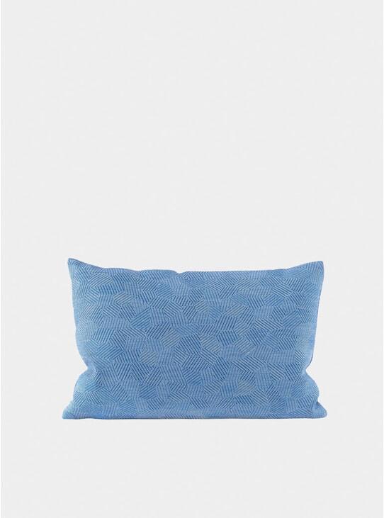 Azure Storm Large Cushion