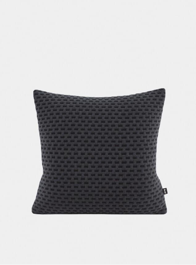 Black Dash Cushion