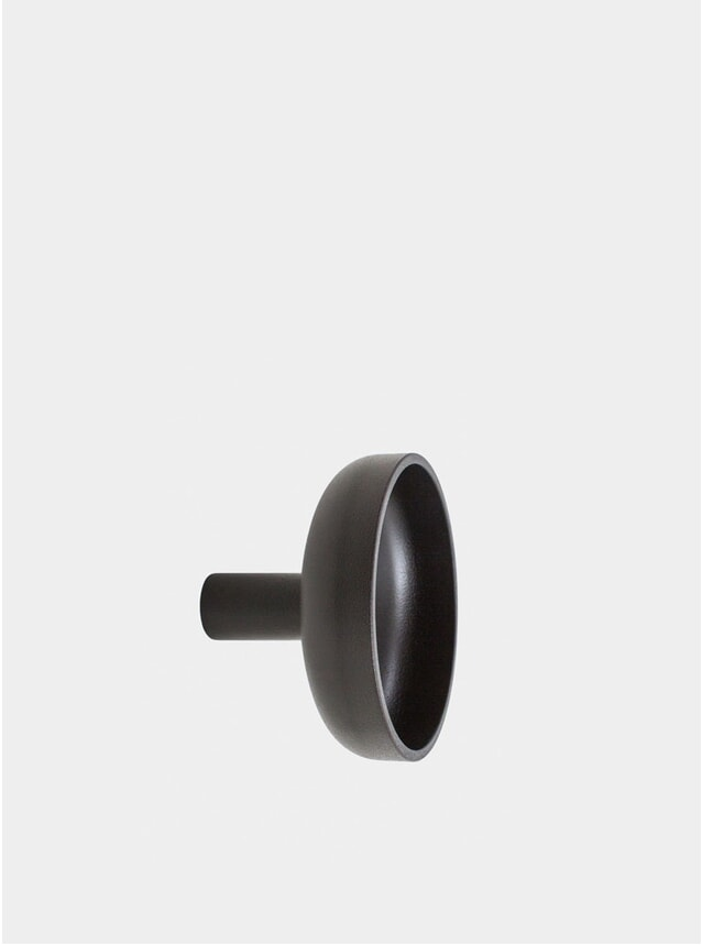 Black Punched Metal Large Hook