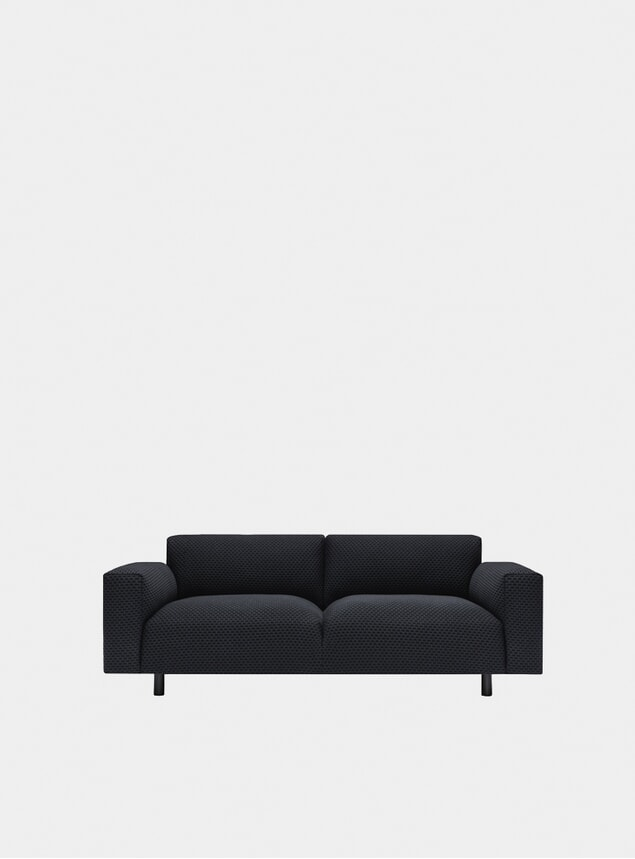 Charcoal Koti Two Seater Sofa