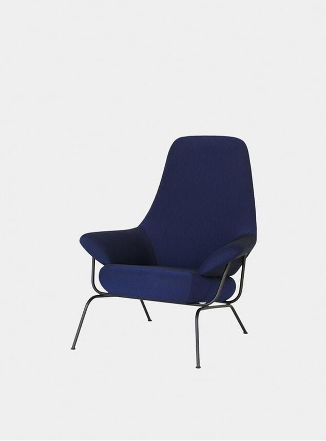 Ink Blue Hai Chair