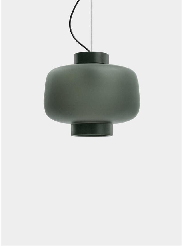 Matte Anthracite Dusk Large Lamp