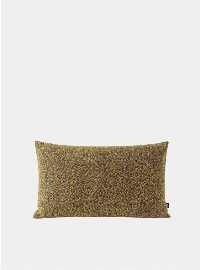 Mustard Melange Large Cushion