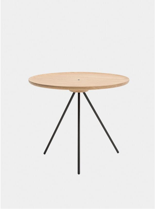 Oak / Black Key Coffee Table