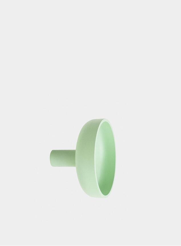 Pastel Green Punched Metal Large Hook