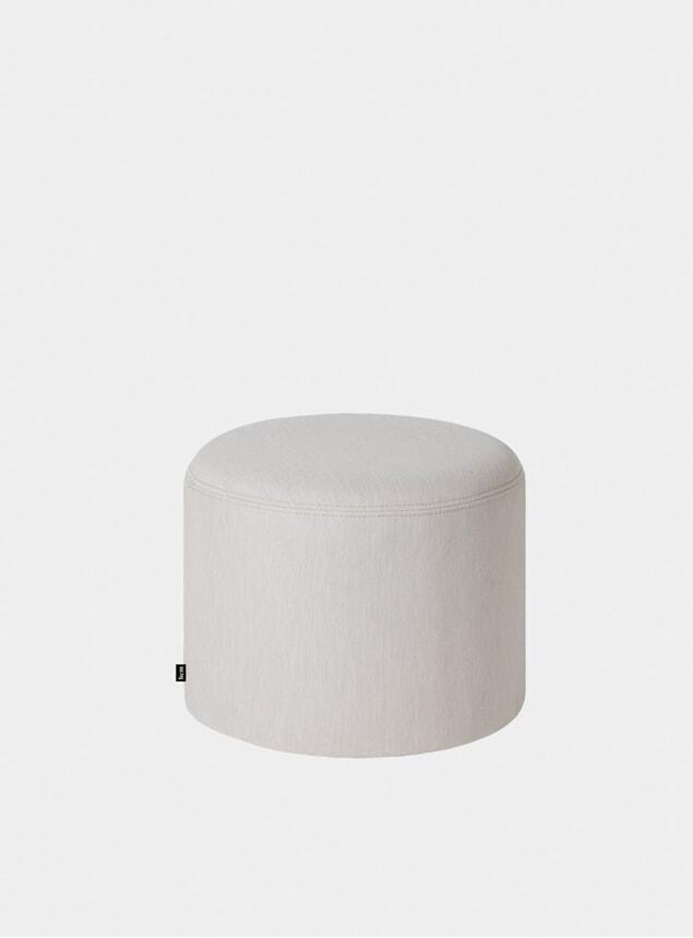Shell Round Pouf