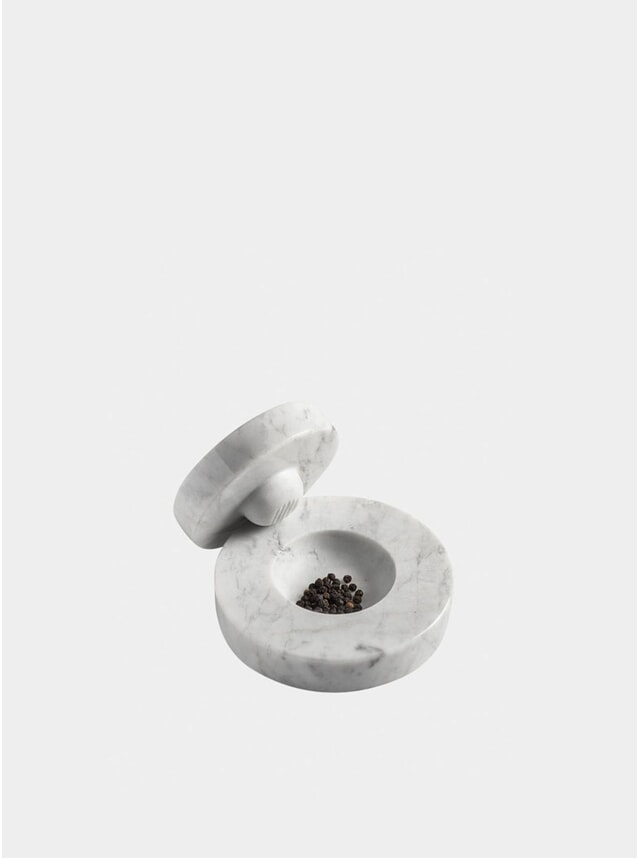 White Carrara Table Mortar