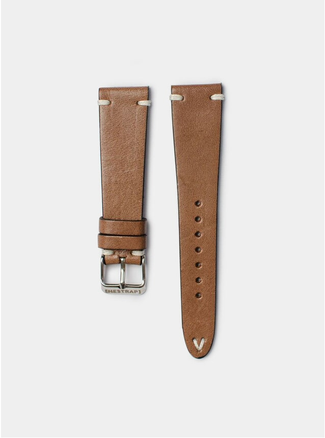 Brown Zico Leather Watch Strap