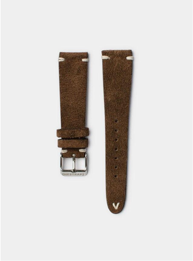 Brown Zico Suede Watch Strap