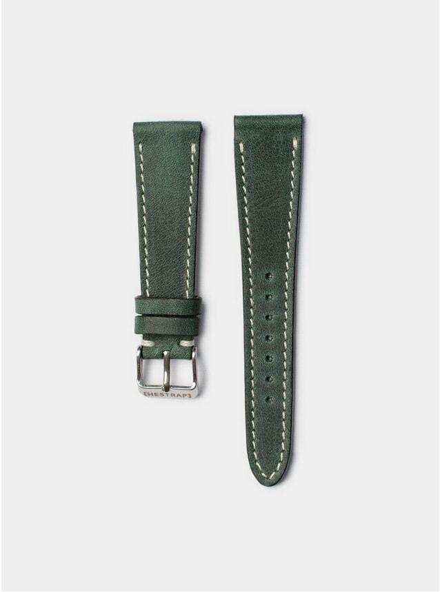 Green Tyson Leather Watch Strap